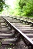 Train track B Royalty Free Stock Image
