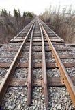 Train track bridge Royalty Free Stock Images