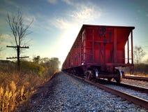 Train on track Stock Photos