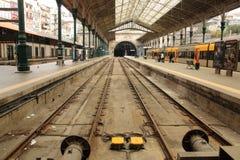 Sao Bento railway train station in Porto Portugal royalty free stock photography
