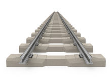 The train track Stock Photography
