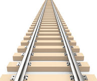 The train track Royalty Free Stock Photo