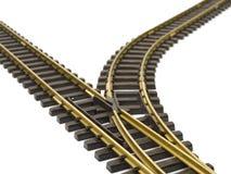 Train track Stock Photo