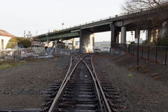 Train Track Switch Stock Image