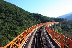 Train track Royalty Free Stock Image