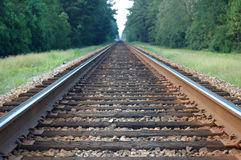 Train Tracks 2 Royalty Free Stock Photo