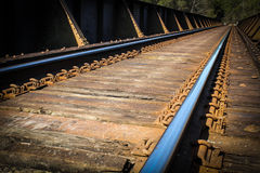 Train Tracks Royalty Free Stock Photography