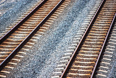 Train tracks 3 Stock Photos
