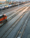 Train tracks Royalty Free Stock Images