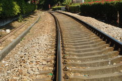 Train tracks Stock Photography