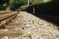 Train tracks Royalty Free Stock Photos