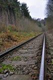 Train tracks Royalty Free Stock Photos