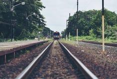 Train Tracks Stock Photography