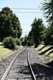 Train Tracks in Germany Royalty Free Stock Photo