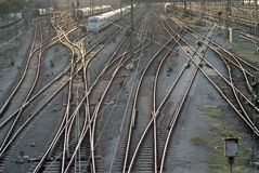 Free Train Tracks In Munich Royalty Free Stock Image - 16516686