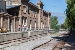 Train Tracks Mendoza Argentina Royalty Free Stock Image