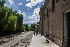 Train Tracks Mendoza Royalty Free Stock Photos