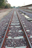Train Tracks,Railroad tracks Stock Image