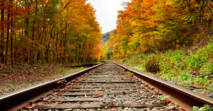 Train tracks. Rural train tracks in the white mountains Stock Photography
