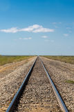 Train tracks to the horizon Colombia Stock Images