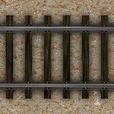 Train Tracks Way Royalty Free Stock Photos
