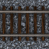 Train Tracks Way Royalty Free Stock Photography