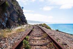 Train tracks Stock Image