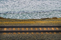 Train Tract, Southern California royalty free stock images