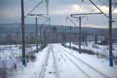Train traffic Stock Image