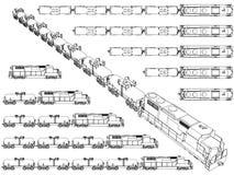Train Trailer Stock Image