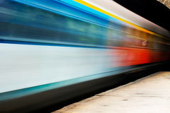 Train trails Stock Images