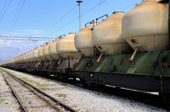 Train transport Stock Images