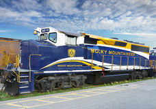 Train Travel Canada Royalty Free Stock Photography