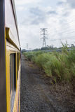 Train travel in Panama Stock Images