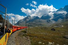 Swiss railway stock photography