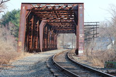 Train trestle Royalty Free Stock Photos