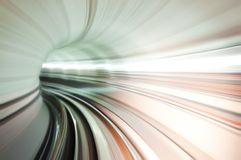 Train tunnel abstract royalty free stock photos