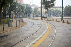 Train urbain Photo libre de droits
