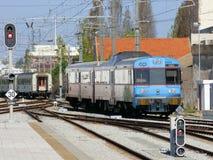 Train urbain moderne Photographie stock