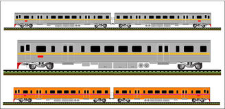 Train vector Royalty Free Stock Photos
