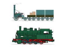 Train (vector illustration) Stock Image