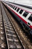 Train vertical Stock Image
