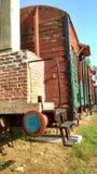 Train wagon. Cafe stock photos