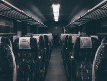 Train wagon interior Royalty Free Stock Photos