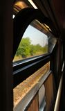 Train wagon window Royalty Free Stock Image