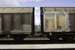 Train Wagons Stock Photo
