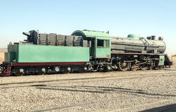 Free Train Wagons In The Desert Stock Images - 55969334