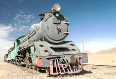 Free Train Wagons In The Desert Stock Photos - 55970073