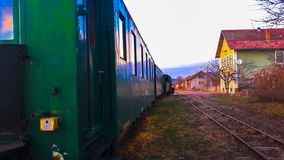 The train in station royalty free stock images