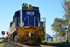 Train Waiting royalty free stock photography